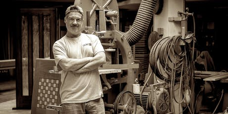 Learn to make tournament size wood chessboard with craftsman Chris Trotta tickets