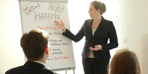 Debattieren -  Setzen Sie Sich als Unternehmer*in argumentativ durch