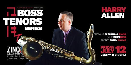 Boss Tenors Series: Harry Allen tickets