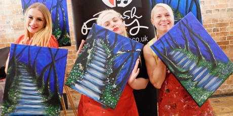 Secret Steps Brush Party - High Wycombe tickets