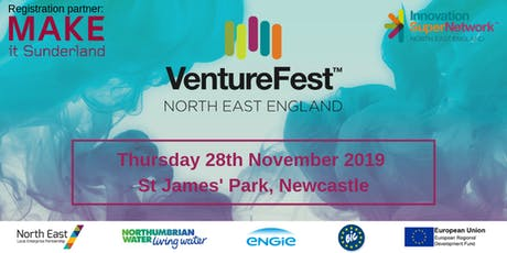 VentureFest North East 2019 tickets