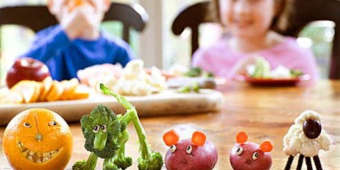 Helping our Kids to Eat and Love Vegies