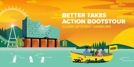 Better Takes Action Bootstour - Clean Up Event Hamburg Tickets