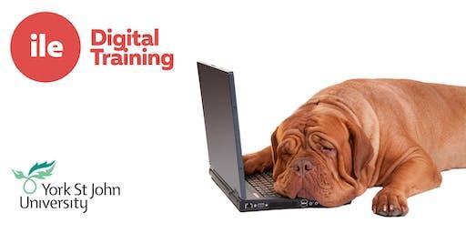 WE1: Website CMS Basic training (Tue 2nd July 14:00-16:00)