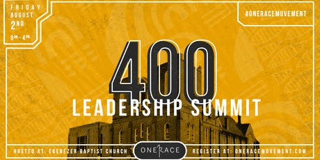 400 Leadership Summit tickets