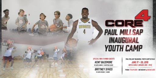 NBA Power Foward Paul Millsap Presents His Inaugural Youth Camp