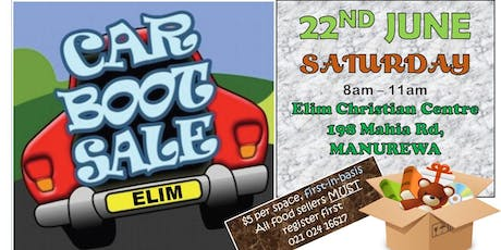 Elim Car Boot Sale South tickets