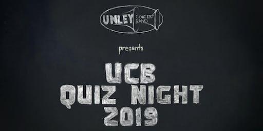 Unley Concert Band Quiz Night 2019