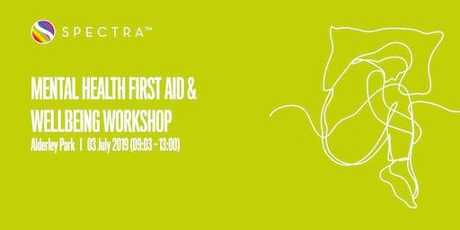 Mental Health First Aid & Wellbeing Workshop
