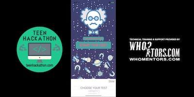TeenHackathon.com:  Saturday Challenge -- Re-Skin & Publish iOS Quiz App