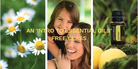 Free 'Introduction to Essential Oils' Class - Camden tickets