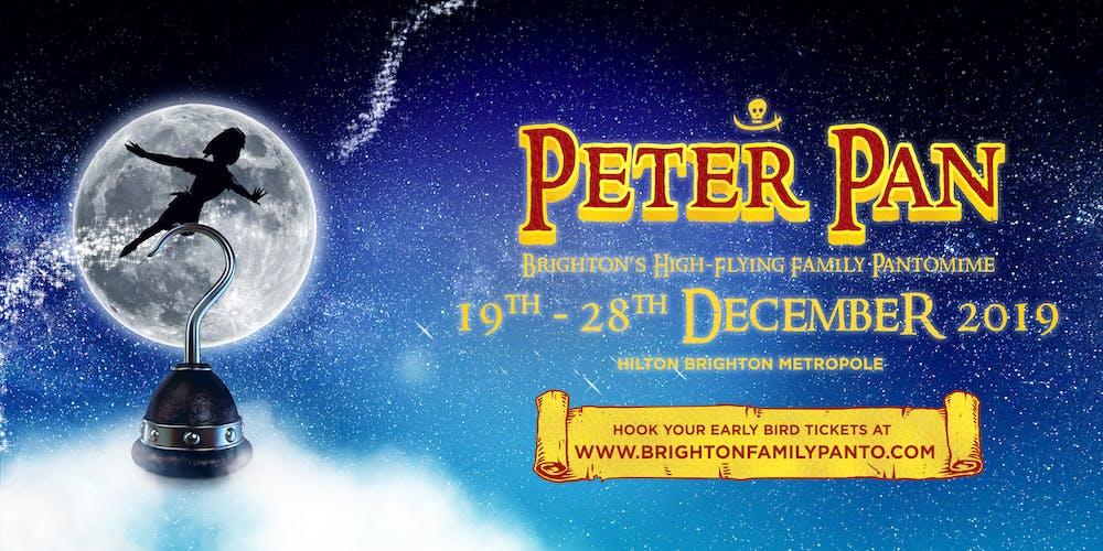 PETER PAN: 24/12/19 - 11:00 Performance Tickets, Tue 24 Dec