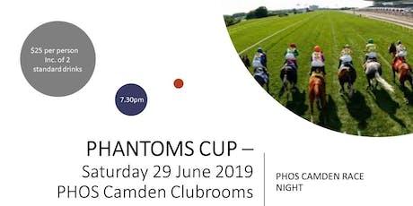 Phantoms Cup  - PHOS Camden Horse Race Event tickets