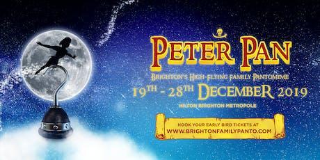 PETER PAN: 28/12/19 - 13:30 Performance tickets