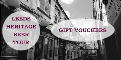 Leeds Heritage Beer Tour - Gift Voucher