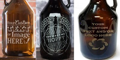 Beer Growler Etching Workshop