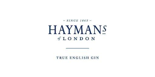 Hayman's Gin Tasting