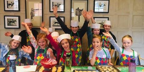 Children's Organic Cookery Workshop half day (6-12yrs) @ No 5 Bridge St, Winchester tickets
