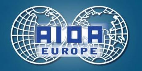 "8th AIDA Europe Conference 2019: ""Landfall of the Tech Storm"" bilhetes"