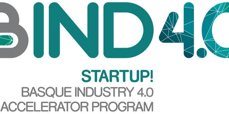 BIND 4.0: accelerating your start-up with high-level Industry 4.0 customers biglietti