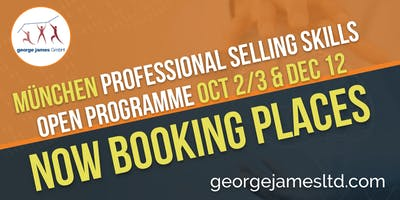 Professional Selling Skills Programme - München - Oct 2/3 & Dec 12
