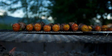 Kebab Night! A Homemade Moroccan Lamb Feast in the Field JULY tickets