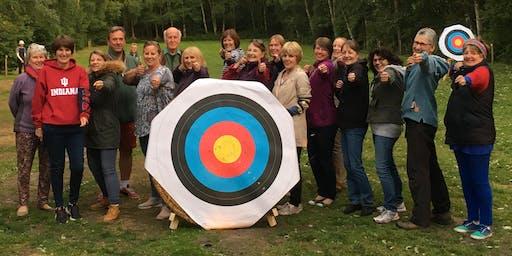 Holmfirth WI Archery in Meltham
