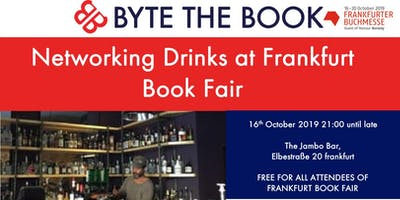 Byte the Book - Networking Drinks at Frankfurt Book Fair