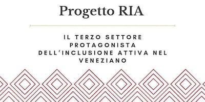Progetto RIA - Il Terzo Settore protagonista dell'inclusione attiva