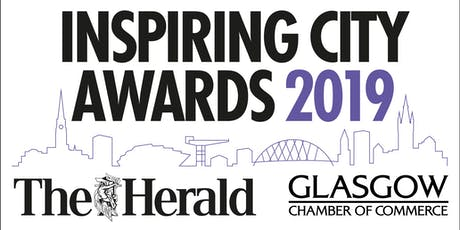 The Herald and Glasgow Chamber of Commerce Inspiring City Awards  tickets