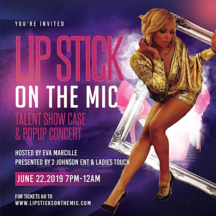 Lip Stick On The Mic VIP Party Hosted By Eva Marcille BET Weekend image