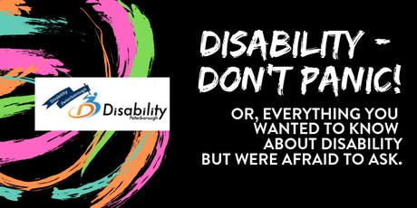Disability - Don't Panic! tickets