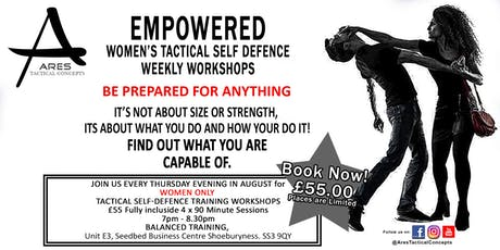 Empowered - Women's Tactical Self Defence tickets