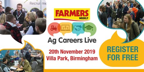 Ag Careers Live tickets