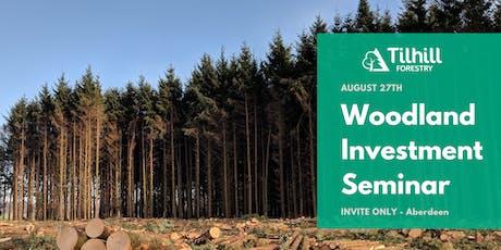 Woodland Investment Seminar tickets