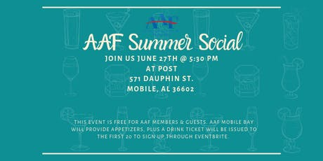 AAF Mobile: Summer Membership Social tickets