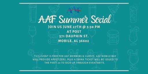 AAF Mobile: Summer Membership Social