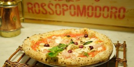 SONNTAGSPIZZA AUS DEM STEINOFEN + LUNCH mit Pizzaiolo Ciro Pollio Tickets