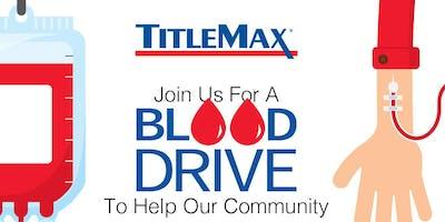 Blood Drive at TitleMax Gainesville, GA