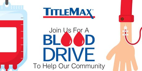 Blood Drive at TitleMax Gainesville, GA tickets