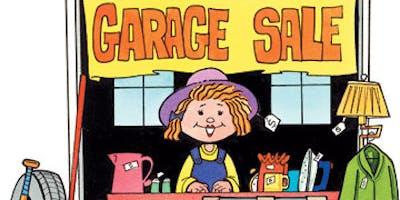 Garage Sale, Saturday June 22nd 2019