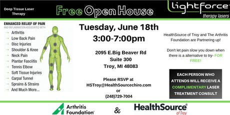 Open House! LiteForce Laser Therapy. tickets