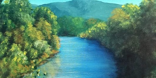 Paint a Piece of Letcher County: Fishpond #1