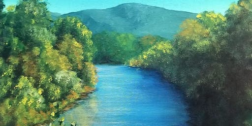 Paint a Piece of Letcher County: Fishpond Lake #2
