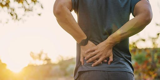 Public Information Evening - 'Back Pain' with Consultant Speaker Mr Sam Kazzaz