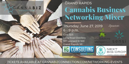 Grand Rapids Cannabiz Connection Networking Mixer