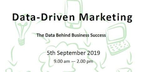 Data-Driven Marketing tickets