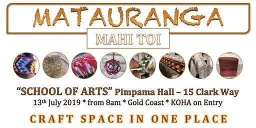 MATAURANGA MAHI TOI - CRAFT SPACE & MARKET STREET