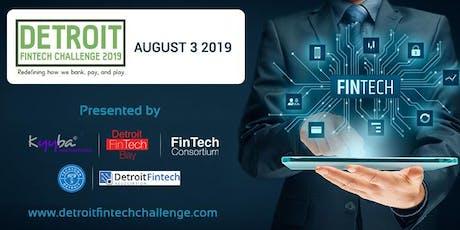 Detroit Fintech Challenge 2019 tickets
