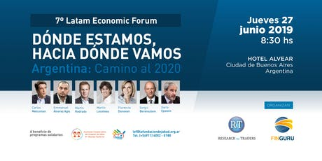 7º LATAM ECONOMIC FORUM entradas